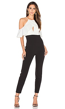 Marlee Jumpsuit en Black & White