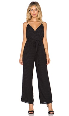 Bardot Gretta Jumpsuit in Black