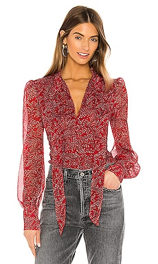 Floral Ditsy Blouse Bardot $99 NEW ARRIVAL