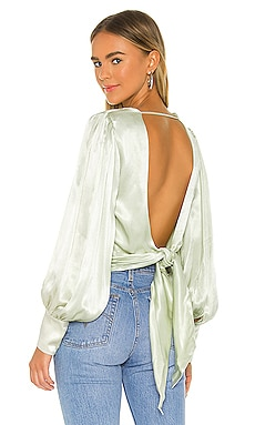 Opal Blouse Bardot $89 NEW
