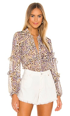 Rumi Blouse Bardot $99 NEW