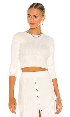 Long Sleeve Knit Top Bardot $69