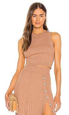 Senita Knit Top Bardot $59 NEW