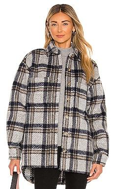 Checked Flannel Shirt Bardot $149 NEW