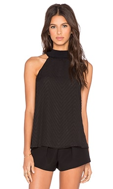 Bardot Gretta Layered Top in Black