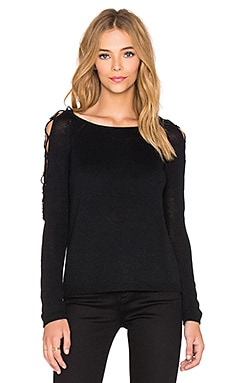 Bardot Santa Fe Knit Top in Black