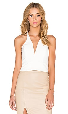 Bardot Fifi Corset Top in Ivory