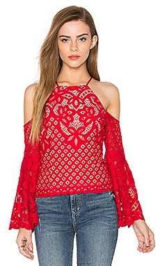 Mila Lace Top en Vivid