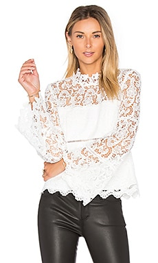 x REVOLVE Sansa Lace Top