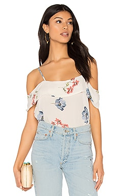 Floral Wrap Top en Dawn Floral