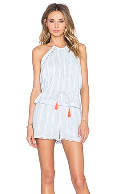 Mako Romper in Light Blue