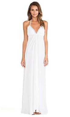 Tinos Dress in White