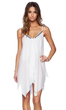 Basta Surf Santorini Dress in White Eyelet