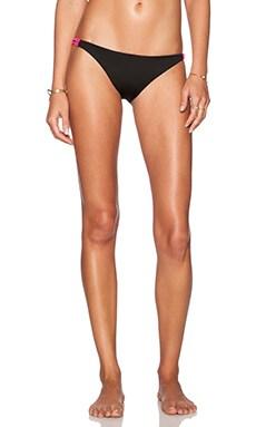 Basta Surf Zunzal Bikini Bottom in Noir & Navy & Hot Pink