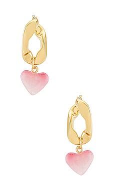 Amour Chain Drop Earrings BaubleBar $38