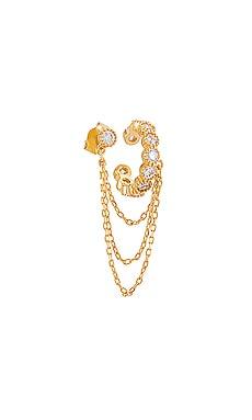 Catena 18K Gold Vermeil Stud And Cuff BaubleBar $39