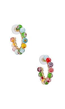 Strada Hoop Earrings BaubleBar $42