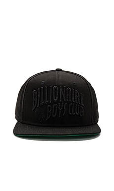 BB Arch Snapback in Black