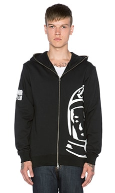 Billionaire Boys Club Big Helmet Hoodie in Black