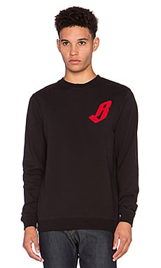Billionaire Boys Club Classic Pullover in Black