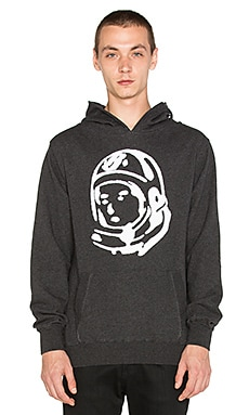 Billionaire Boys Club Astro Helmet Hoodie in Heather Black