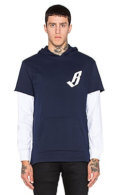 Billionaire Boys Club Big Arch Hoody in Navy Blazer