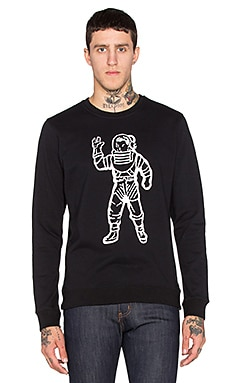 Billionaire Boys Club BBC Astronaut Sweatshirt in Black