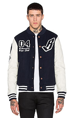 Billionaire Boys Club B Jacket in Navy Blazer