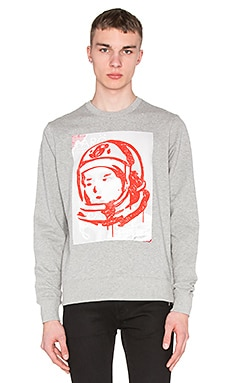 Billionaire Boys Club Billionaire Fiti Sweatshirt in Heather Grey