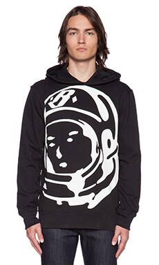 Billionaire Boys Club Zoom Helmet Logo Hoodie in Black