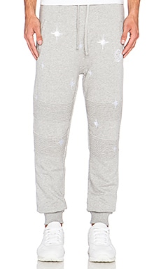 Billionaire Boys Club Stardust Sweatpant in Heather Grey