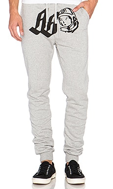 Billionaire Boys Club Orbit Sweatpant in Heather Grey