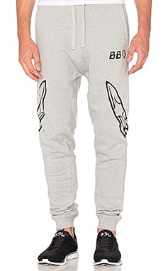Billionaire Boys Club BB Lift Pants in Heather Grey