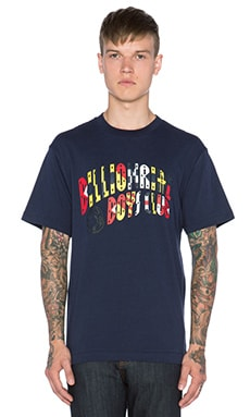 Billionaire Boys Club Nautical Arch Logo Tee in Navy