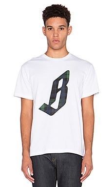 Billionaire Boys Club Capital Tee in White