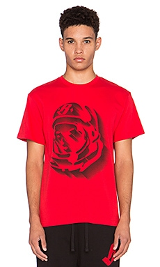 Billionaire Boys Club Helmet Fade Tee in Red