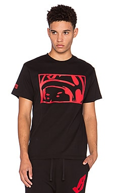 Billionaire Boys Club Looking Helmet Tee in Black
