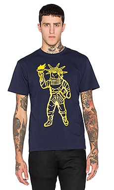 Billionaire Boys Club Liberty Tee in Navy Blazer
