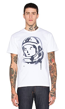 Billionaire Boys Club Helmet Spray Tee in White