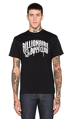 Billionaire Boys Club Billionaire Arch Drip Tee in Black