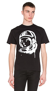 Billionaire Boys Club Helmet Spray Tee in Black