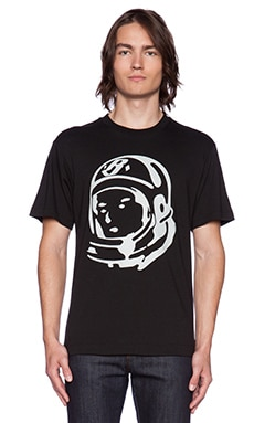 Billionaire Boys Club Classic Helmet Head Tee in Black