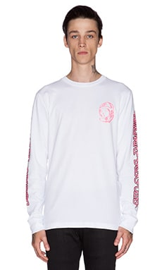 Billionaire Boys Club Neon Tee in White