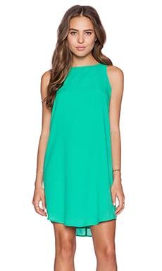 BB Dakota Colleen Mini Tank Dress in Jade