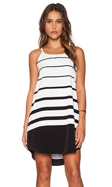 BB Dakota Amelia Varigated Stripe in Black