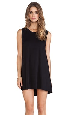 Collective Sofia Tank Dress in Black