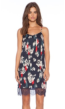 Jack by BB Dakota Kathleen Floral Dress in Midnight
