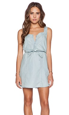 Jack by BB Dakota Malik Chambray Dress in Lt. Blue