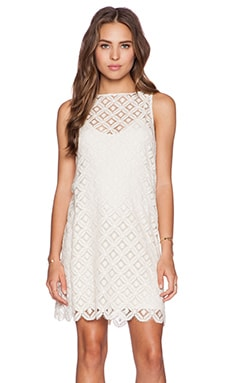 BB Dakota Mark Dress in Ivory