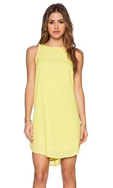 BB Dakota Colleen Dress in Citron